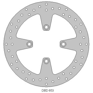 Delta front streetbike disc for XL125V 01 - 12