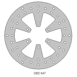 Delta rear streetbike disc fits RS125R 06 - 14