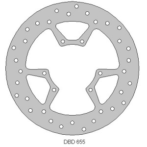 Delta front streetbike disc for WR125R 09 - 15