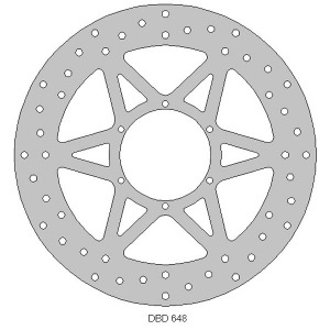 Delta front streetbike disc fits RS125R 06 - 11