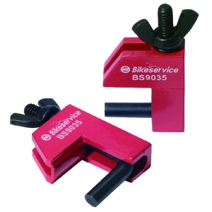 Bikeservice Tools Rubber Line Clamp Set 2pc