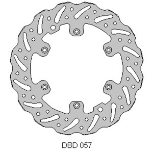Delta MX front brake disc for Beta RR Enduro 2013 - 2017