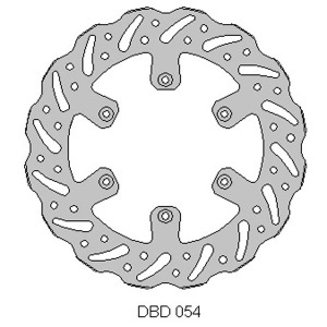 Delta MX front brake disc for Gas Gas MC/EC 2002 - 2015