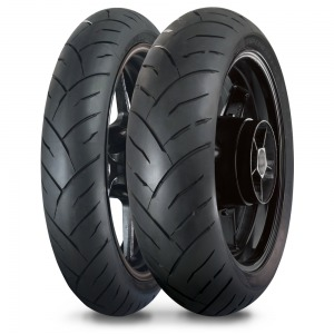 Maxxis MA-ST2 matched tyre pair - 120/70-ZR17 and 180/55-ZR17