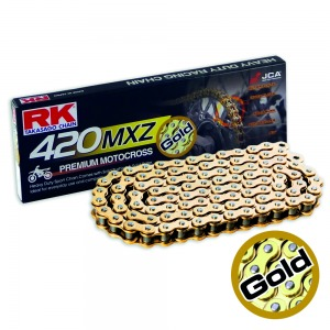 CHAIN RK GB420MXZ-114 GOLD