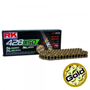 CHAIN RK GB428XSO-118 GOLD - PRO X-RING
