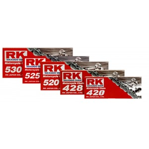 CHAIN RK 520 PER LINK(100FT-1920)CLIP LINK