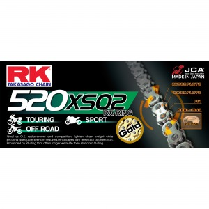 CHAIN RK GB520XSO2-88 GOLD - PRO X-RING