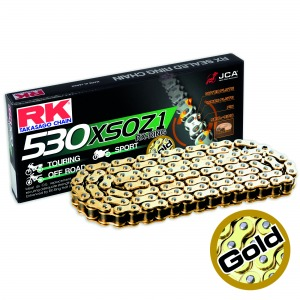 CHAIN RK GB530XSOZ1 PER LINK (100FT-1920) GOLD - PRO X-RING