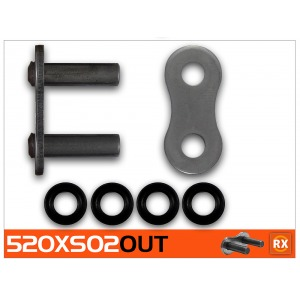 CON LINK RK 520XSO2-CLF RIVET LINK - PRO X-RING