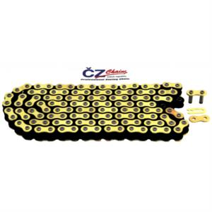 CHAIN CZ 428 MX GOLD X 134