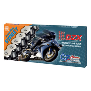 CHAIN CZ 530DZX SILVER ACTIVE RING X 122