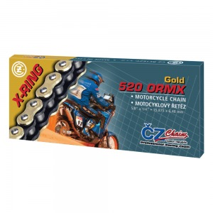 CHAIN CZ 520ORMX ENDURO GOLD ACTIVE RING X 114
