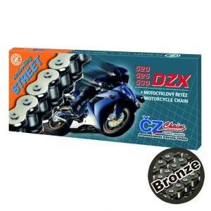 CHAIN CZ 530DZX BRONZE ACTIVE RING X 130