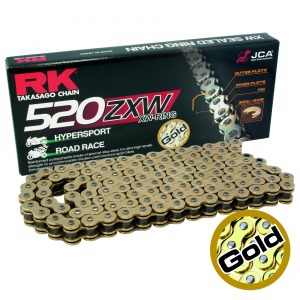 CHAIN RK 520ZXW GOLD X 122