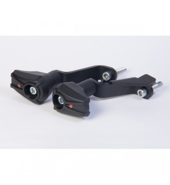 X-Pads Crash Protector set Black CBR 500 R 13-
