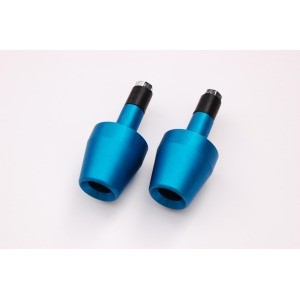 Bar Ends Aluminium Blue
