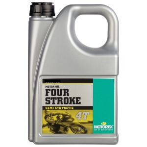 MOTOREX 4T 15/50 4LT SEMI SYNTHETIC 1 CASE OF 4