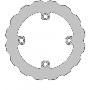 DELTA MX BRAKE DISC SOLID REAR DBD073F SHERCO 2T/4T ENDURO 2018
