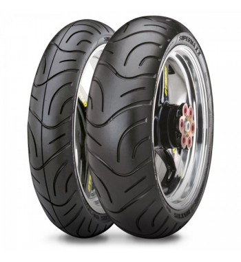 Maxxis M6029 MATCHED TYRE PAIR 120/70-ZR17 and 160/60-ZR17