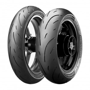 Maxxis MA-PS Supermaxx Sport Tyres - Pair - 120/70-ZR17 and 180/55-ZR17