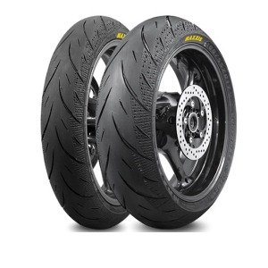Maxxis Diamond MATCHED TYRE PAIR 120/70-ZR17 and 180/55-ZR17
