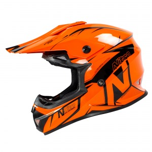 Helmet Nitro MX620 Podium Black / Orange L - 60