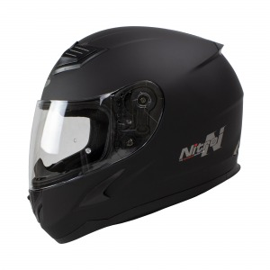 Helmet Nitro N2400 Black Satin Pin Lock Ready Xxl 64
