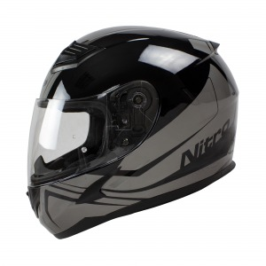 Helmet Nitro N2400 Rogue Blk/Gun Pin Lock Ready Xs 54