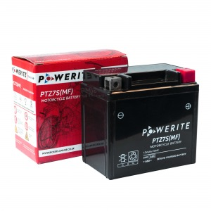Battery Powerite PTZ7S-12V MF - Factory Activated Sealed (Case 10)