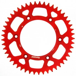 SuperSprox Rear Alloy MX RAL-210-49-RED