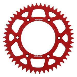 SuperSprox Rear Alloy MX RAL-210-50-RED