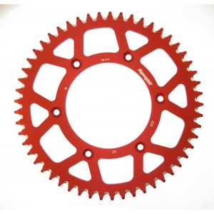 SuperSprox Rear Stealth Alloy MX RAL-210-51-RED