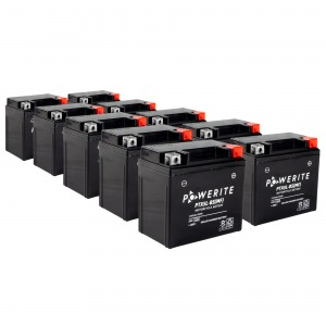 Battery Powerite PTX5LBS-12V MF - Factory Activated Sealed, Full box of 10