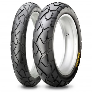 Maxxis MAPD MATCHED TYRE PAIR 110/80VR19 and 150/70VR17