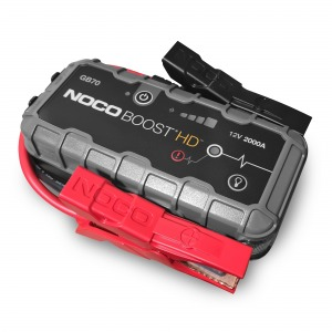 NOCO GB70 HD 2000A Lithium Jump Starter / Powerbank