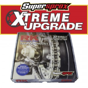Ducati 1198 DIAVEL 11-15 Silver Supersprox RK Xtreme kit
