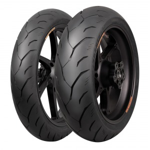 CST RIDEMIGRA MATCHED TYRE PAIR 120/70-ZR17 and 160/60-ZR17