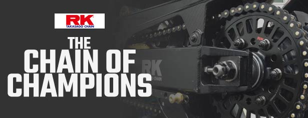RK Motorcycle Chains - The Chains Of Champions